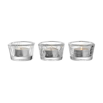 Mini Tealights - Set of 3 - Clear