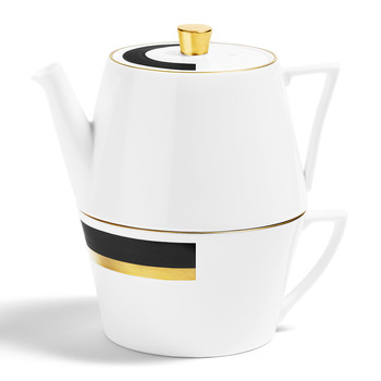 Arc Tea-For-One Teapot