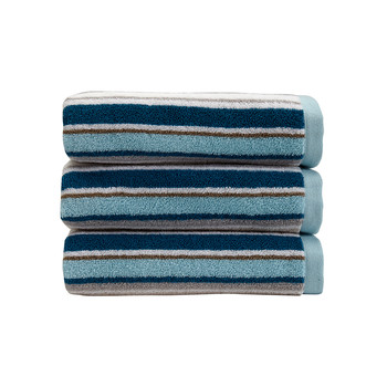 Portobello Stripe Towel - Surf