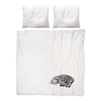 Ollie Cat Duvet Set - Double