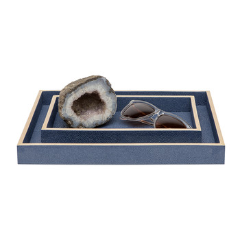 Manchester Tray Set - Navy