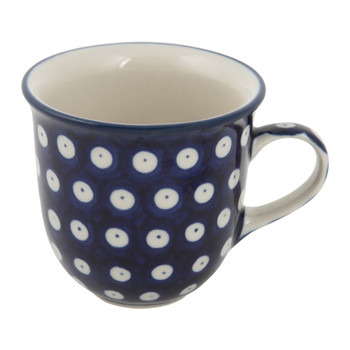 Curved Mug - Blue Eyes
