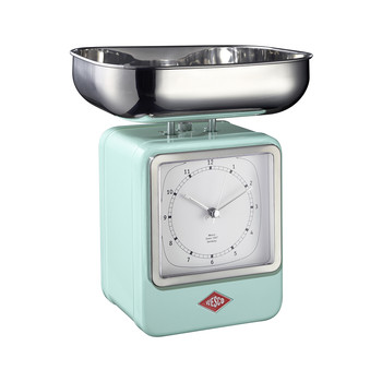 Retro Scale with Clock - Mint