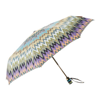Irene Multi Stripe Handle Umbrella - No. 1
