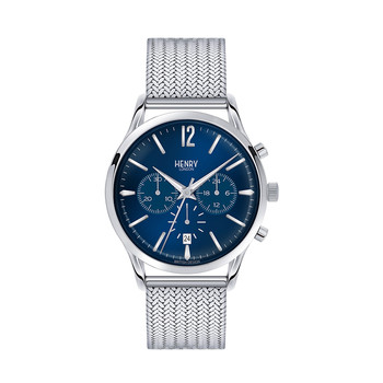 Knightsbridge Mesh Strap Watch with Trio Dial