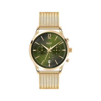 Chiswick Mesh Strap Watch with Trio Dial