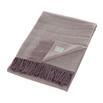 Flapper Throw - Natural/Mauve