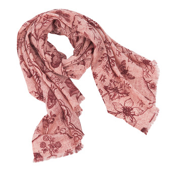 2 Tone Spring to Life Scarf - Pink