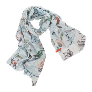 Spring to Life Scarf - Blue