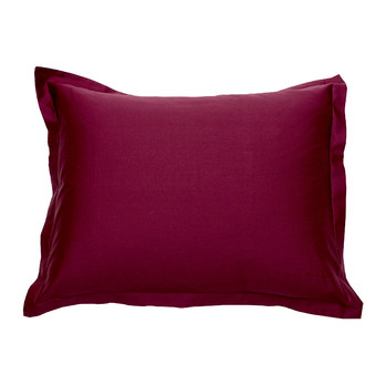 Sateen Pillowcase - Purple Fig