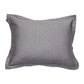 Libby Paisley Dot Pillowcase - Grey