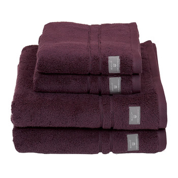 Premium Terry Towel - Purple Fig