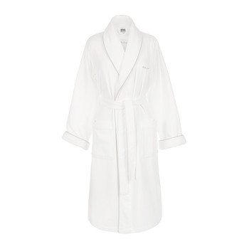 Premium Velour Bathrobe - White