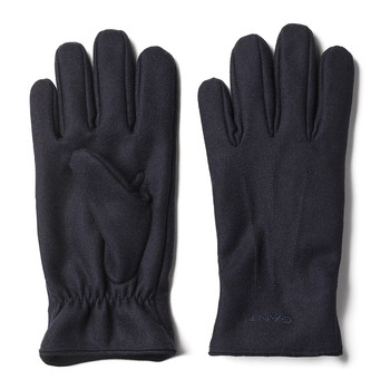 Melton Gloves - Navy