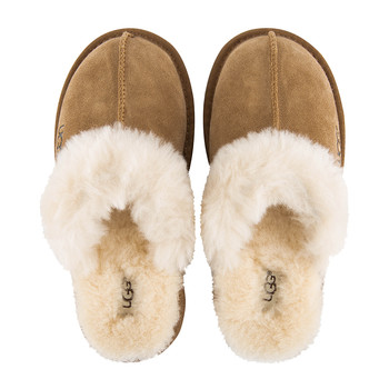 Children's Cozy Slippers - Chestnut