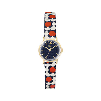 Flower Pop Watch - Red/Navy