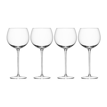 Wine Balloon Glass - Set of 4