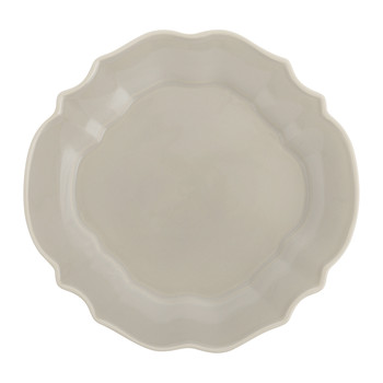 Luis Stoneware Side Plate - Taupe