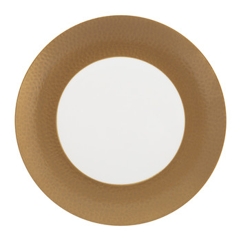 Port Cros Golden Porcelain Side Plate