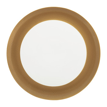 Port Cros Golden Porcelain Serving Plate