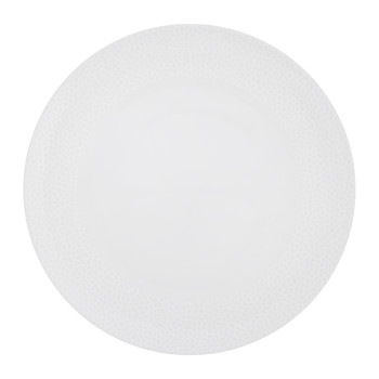 Port Cros White Porcelain Dinner Plate