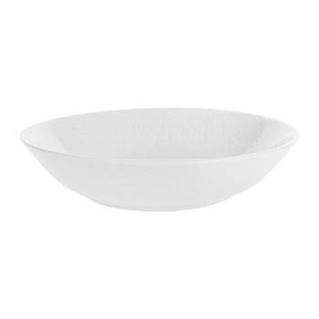 Port Cros White Porcelain Soup Bowl