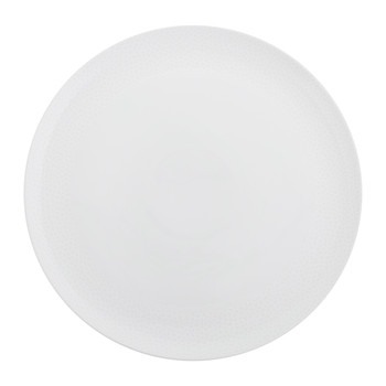 Port Cros White Porcelain Serving Plate