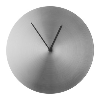 Norm Wall Clock - Stainless Steel