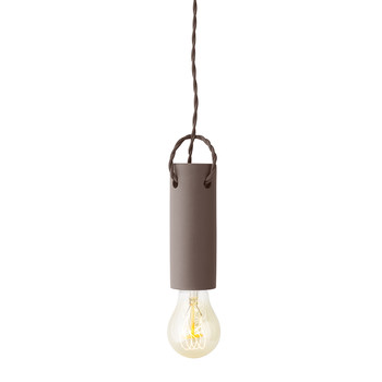Tied Ceiling Light - Taupe