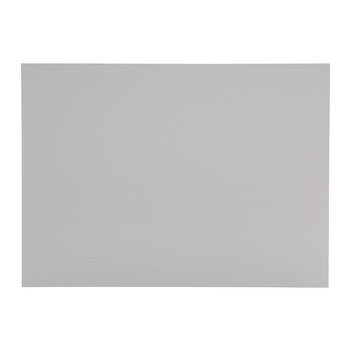 Brora Recycled Leather Placemat - Grey - Grey