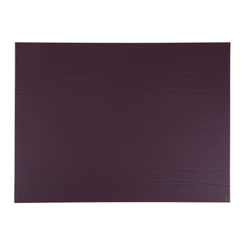 Recycled Leather Placemat - Aubergine