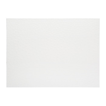 Emu Effect Recycled Leather Placemat - White