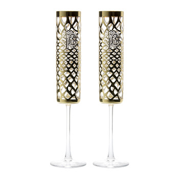Marrakech Champagne Goblets - Set of 2