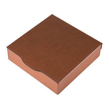 Owletts Leather Trinket Box - Copper Golf