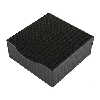 Park Ridge Leather Trinket Box - Black Dandy