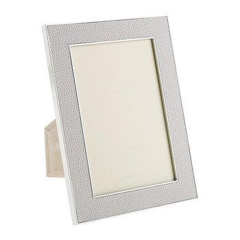 Lilac Faux Shagreen Photo Frame