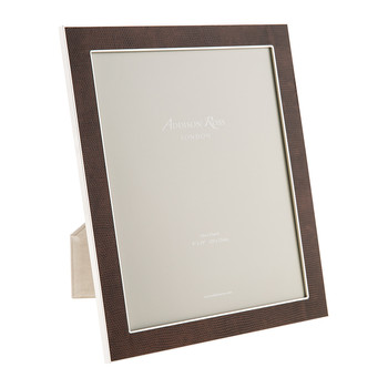 Coffee Faux Snake Photo Frame