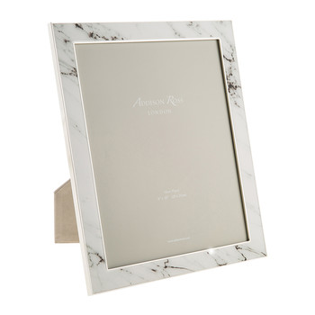 White Marble Photo Frame