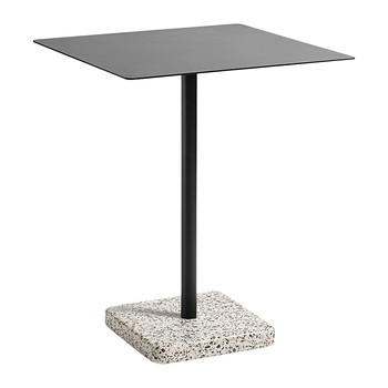Terrazzo Square Table - Grey/Charcoal