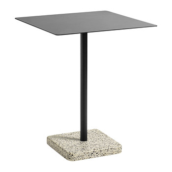 Terrazzo Square Table - Yellow/Charcoal
