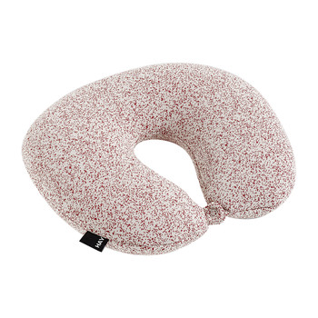 Sleep Well Neck Pillow - Red & White