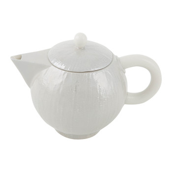 Capri Coffee Pot - Pearl Grey