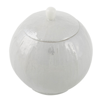 Capri Sugar Bowl - Pearl Gray