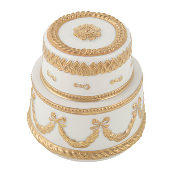 Baby Chantilly Scented Candle - White & Gold