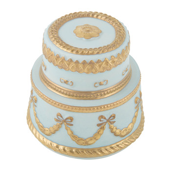 Baby Chantilly Scented Candle - Turquoise & Gold