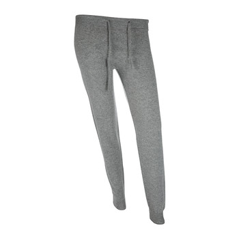 Leven Cashmere Lounge Trousers - Light Grey
