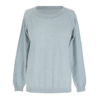 Leven Cashmere Sweater - Sea Spray