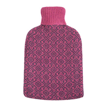 Oakhurst Cashmere Hot Water Bottle - Wildberry