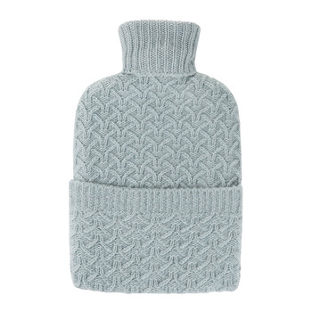 Boyd Cashmere Hot Water Bottle - Sea Spray