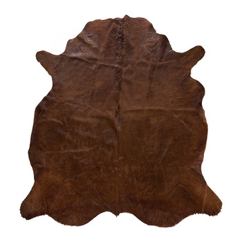 Compton Cowhide Rug - Copper